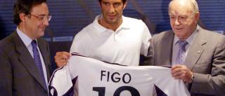 """""""A transferência de Figo deixou-me muito abalado"""""""