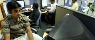Operadores de contact centers ganharam em média 750 euros/mês