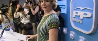 Esperanza Aguirre demite-se assumindo responsabilidade política