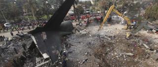 Doze mortos e dezenas de feridos em queda de avião militar em Ariha