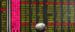 Queda chinesa segue ao mesmo ritmo da Grande Depressão