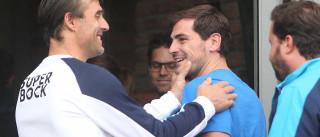 """Casillas garante estar """"muito satisfeito"""" com o carinho recebido"""