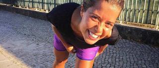 Isabel Silva prepara-se para maratona