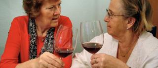 Um copo de vinho por dia pode ajudar a retardar envelhecimento