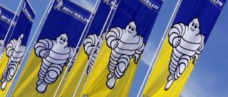 Michelin aumenta ganhos com ajuda da Europa e Estados Unidos