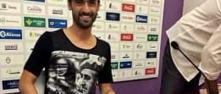 Nuno Silva vai leiloar t-shirt de Franco para fins humanitários