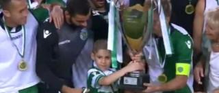 Foi Gabriel quem entregou o troféu ao Sporting. Saiba porquê