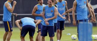 """Messi """"está como um touro"""""""