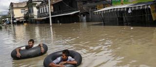 Pelo menos 46 mortos em inundações na Birmânia