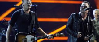 Bruce Springsteen e U2 juntos em palco