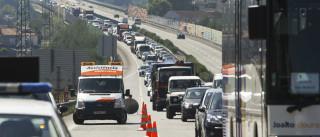 Acidente entre camião e autocarro de escuteiros provoca oito feridos