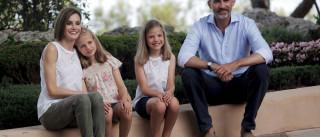 Letizia já se juntou à família para férias em Maiorca