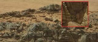 Formação do planeta Marte põe internautas em alvoroço