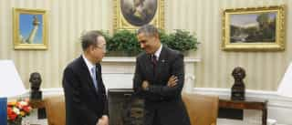 Obama e Ban Ki-moon debatem alterações climáticas