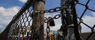 Menina de três anos baleada em parque infantil. Polícia pede ajuda