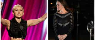 Kate Middleton destrona Miley Cyrus