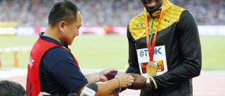 'Atropelou' Bolt e deu-lhe presente como forma de se desculpar