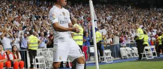 James Rodríguez faz 'golão' de livre frente ao Bétis