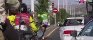 A dupla 'queda' de Sagan: na bicicleta e na Volta a Espanha