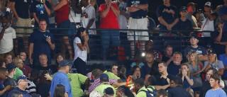 Adepto de basebol morre após queda de 12 metros no estádio