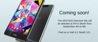 Archos apresenta Diamond Tab