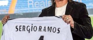 Sérgio Ramos, há 10 anos nos 'merengues'