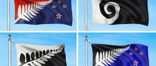 Nova Zelândia já tem quatro bandeiras finalistas. Só falta votar
