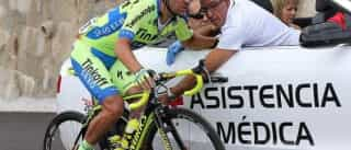 Sérgio Paulinho atropelado por uma mota e suturado numa perna