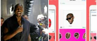 Agora já pode responder a mensagens com a cara de Kanye West
