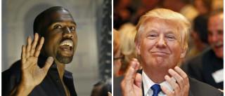 Trump desafia Kanye West para frente-a-frente
