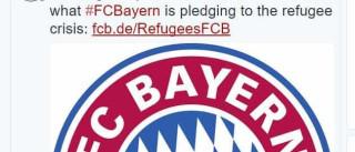 Bayern usa instalações para acolher, alimentar e vestir refugiados