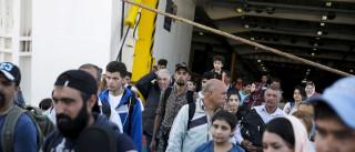 Embarcação com migrantes intercetada quando tentava alcançar Ceuta