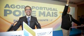 """Gritos de """"Vitória"""" abrem primeiro discurso da coligação PàF"""