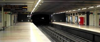 Obras na estação de metro do Areeiro devem terminar em 2016