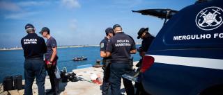 Naufrágio: Arrastão presumivelmente fora do canal de navegação