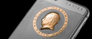 IPhone 6S de luxo tem a cara de Putin