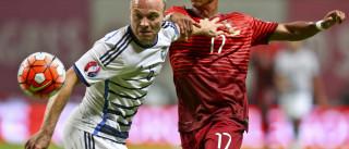 [0-0] Kasper Schmeichel impede que Portugal se adiante no marcador
