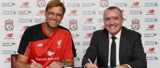 É oficial: Jurgen Klopp é o novo treinador do Liverpool