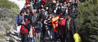 Migrantes chegam à Indonésia depois de Austrália os mandar para trás