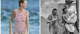 O fato de banho de Uma Thurman: descubra as 'diferenças'