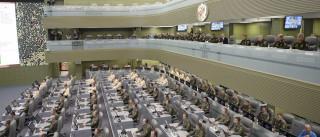 É nesta sala que a Rússia se prepara para a guerra