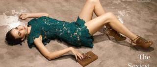 Victoria Guerra: sexy da cabeça ao pés... e com calçado português