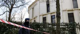 Pó branco encontrado na grande mesquita de Bruxelas deverá ser farinha