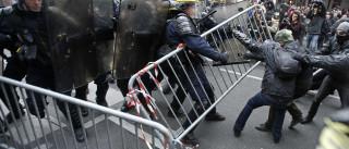 Manifestação em Paris acaba em confrontos