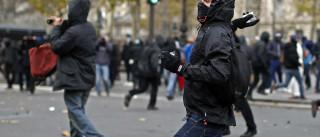 Uma centena de manifestantes detidos durante confrontos em Paris