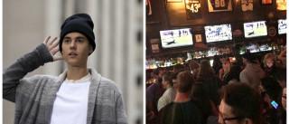 Justin Bieber paga 'rodada' a amigos universitários
