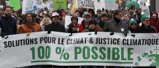 Marchas pelo clima juntaram mais de 785 mil pessoas em todo o mundo