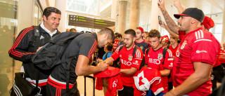 Pré-temporada rendeu cerca de 3 milhões de euros ao Benfica