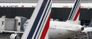 Caças britânicos provocam alarme com escolta de avião da Air France