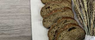 Pão de centeio sem levedar